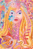 A portrait of a fairy