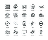 Entertainment Icons - Line Series