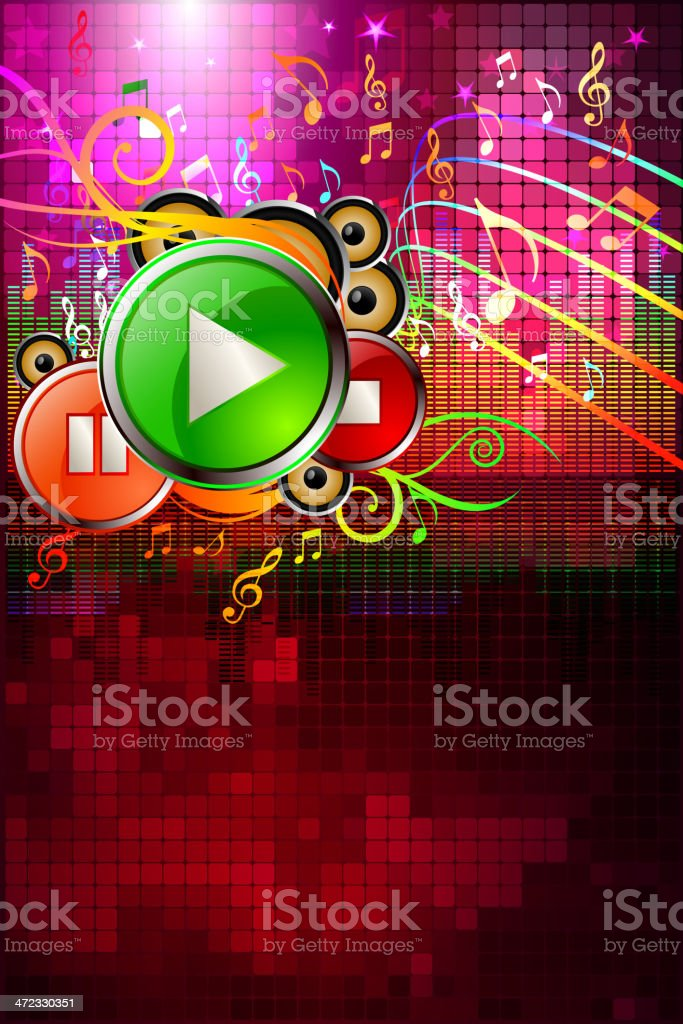 Entertainment - Music Background royalty-free entertainment music background stock vector art & more images of arts culture and entertainment