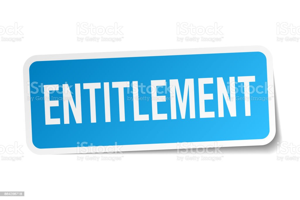 entitlement square sticker on white royalty-free entitlement square sticker on white stock vector art & more images of authority