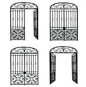 Entrance Metal Gate