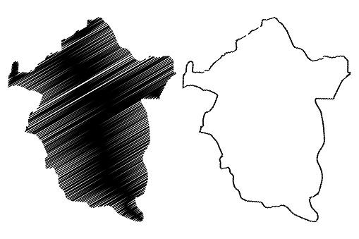 エヌグ州地図ベクトル - アイコンのベクターアート素材や画像を多数ご ...