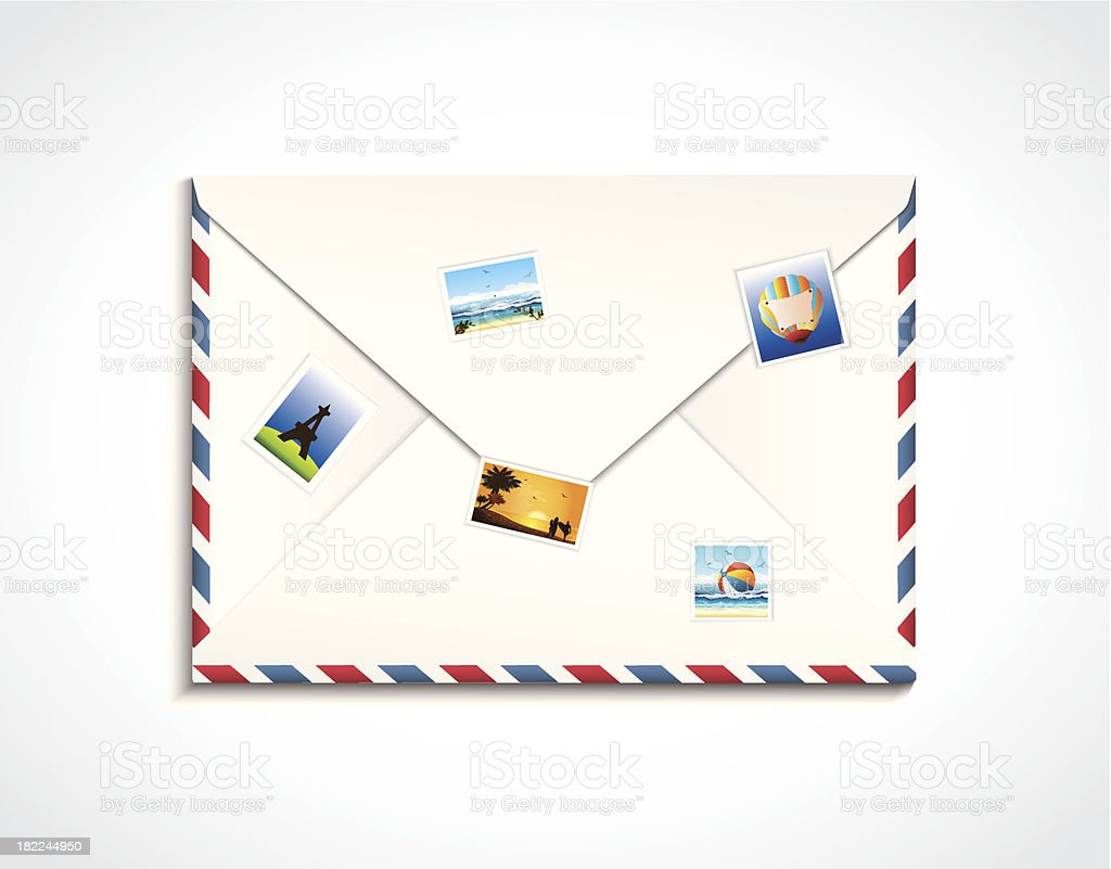 Envelope Travel royalty-free envelope travel stock vector art & more images of backgrounds