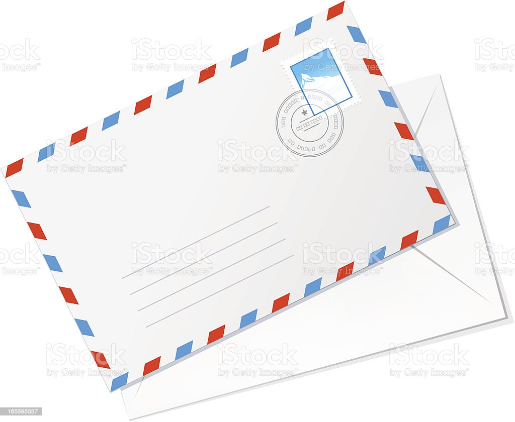 Envelope royalty-free envelope stock vector art & more images of cartoon