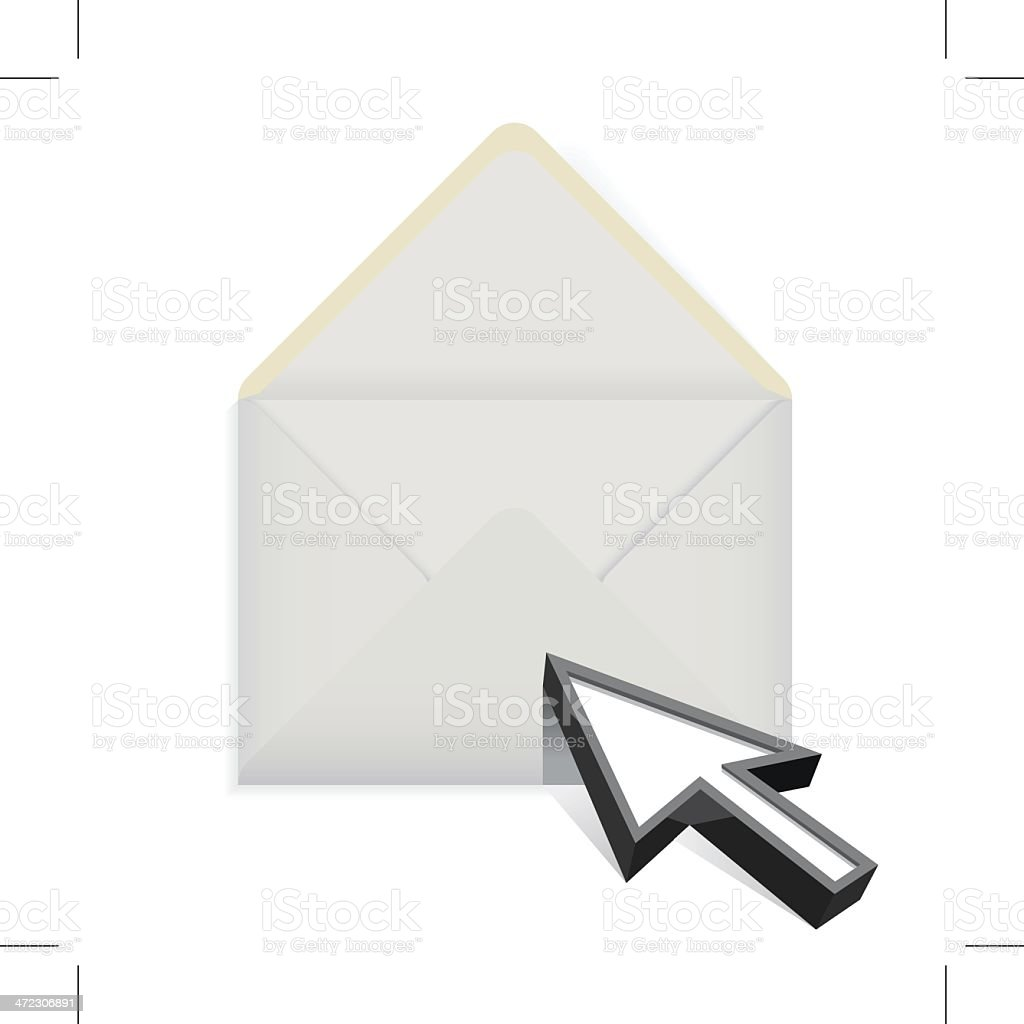 Envelope royalty-free envelope stock vector art & more images of arrow - bow and arrow