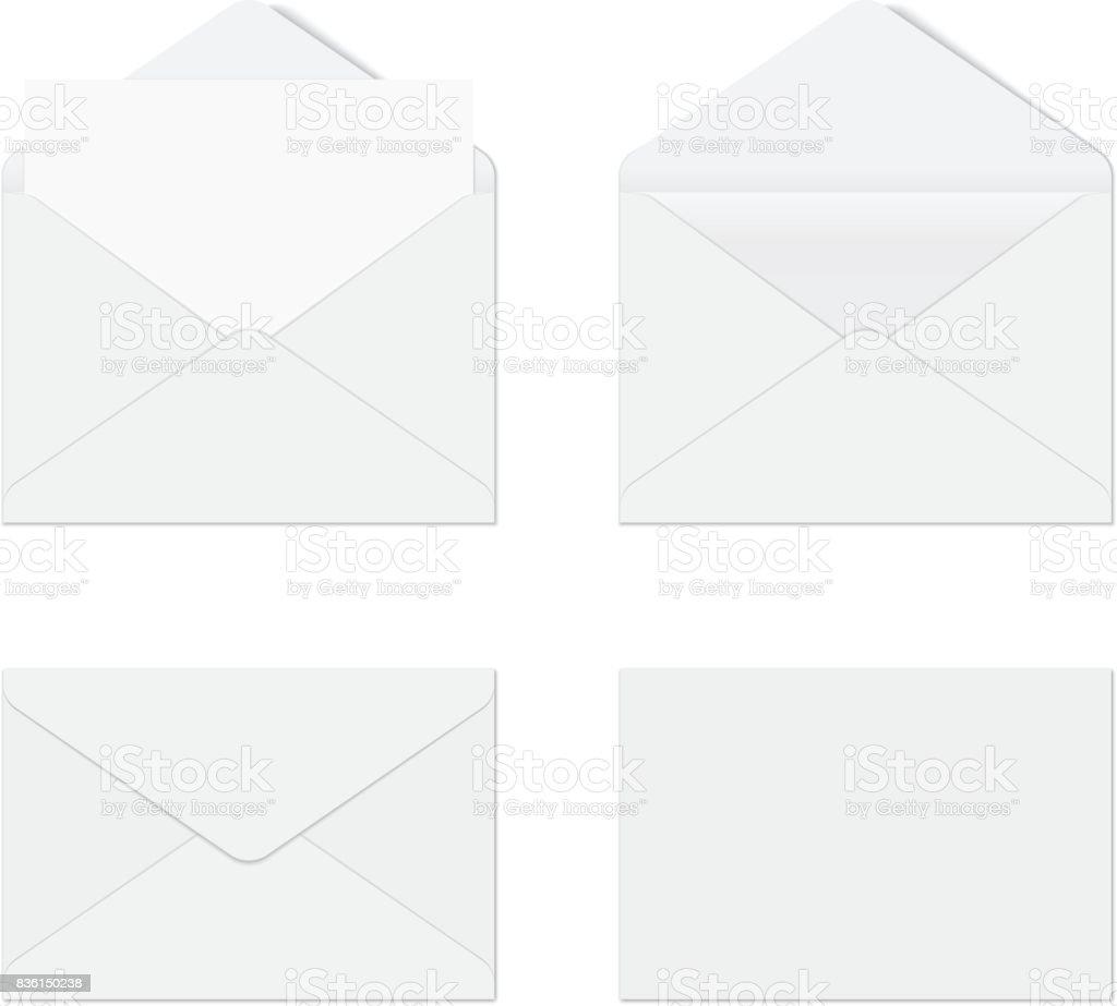 Envelope vector art illustration