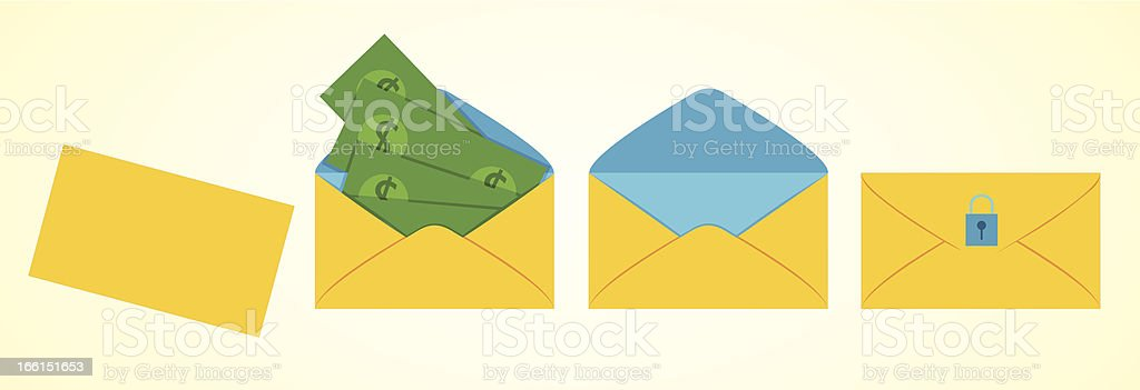 envelope with money inside royalty-free envelope with money inside stock vector art & more images of accessibility