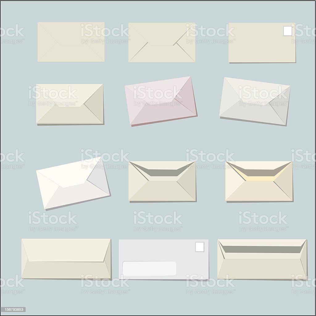Envelopes simple royalty-free envelopes simple stock vector art & more images of desktop pc