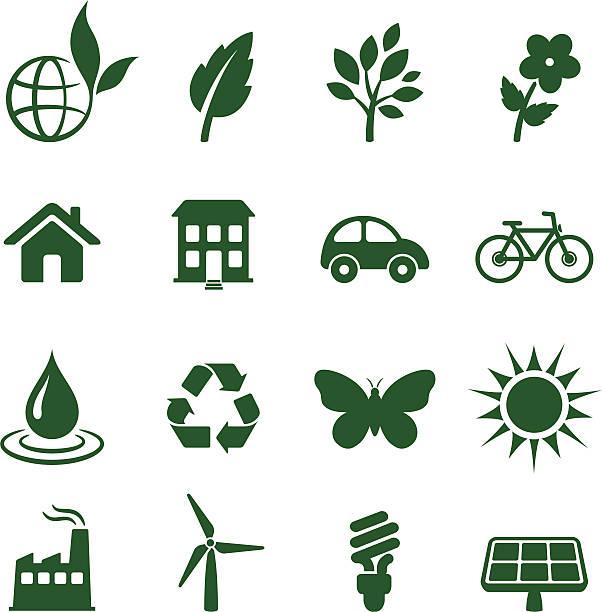 ilustrações de stock, clip art, desenhos animados e ícones de ambiente e preservação dos elementos de design de - wireframe solar power
