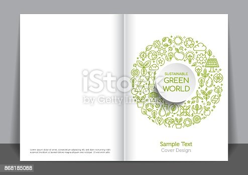 istock Environment Cover design 868185088