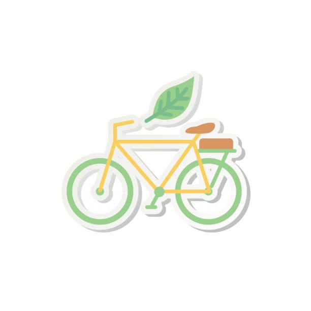 Environment Icon Sticker vector art illustration