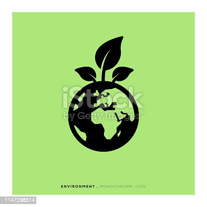 Environment Monochrome Icon