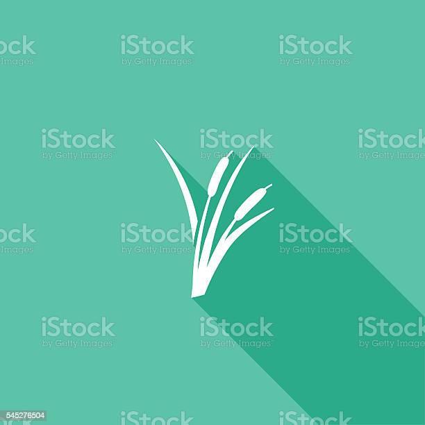 Ambiente Natureza Cor Plana Iconsombra Longa - Arte vetorial de stock e mais imagens de Colorido