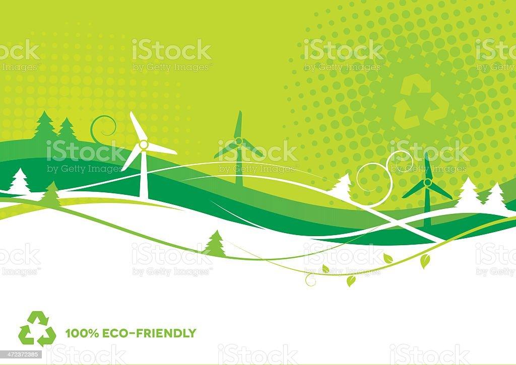 Environmental Background royalty-free stock vector art