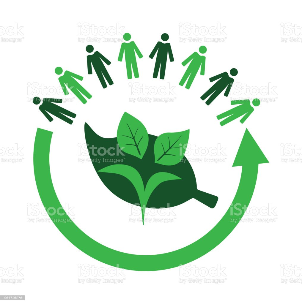 Environmental care and community royalty-free environmental care and community stock vector art & more images of arrow symbol