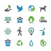 Environmental Conservation Icons - Spry Series