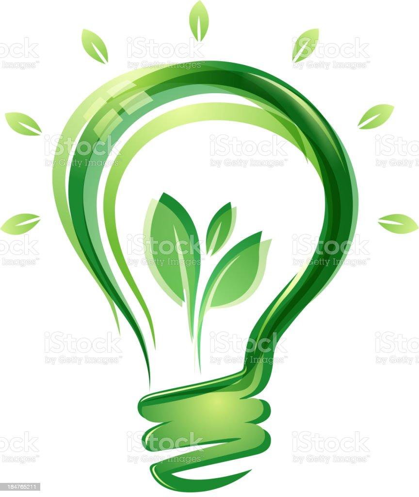environmental lighting vector art illustration