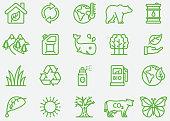 Environmental Line Icons
