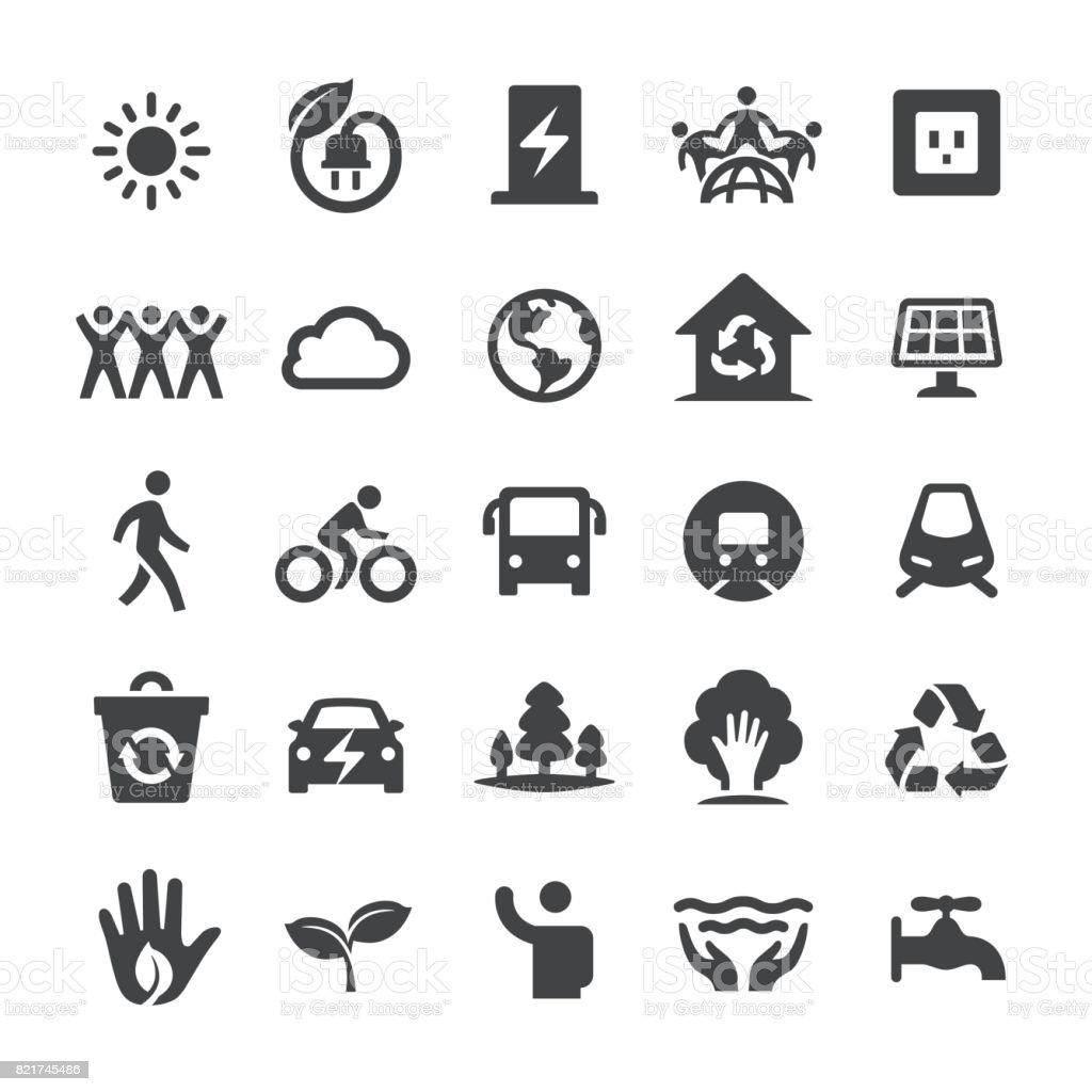 Environmental Protection Icons - Smart Series