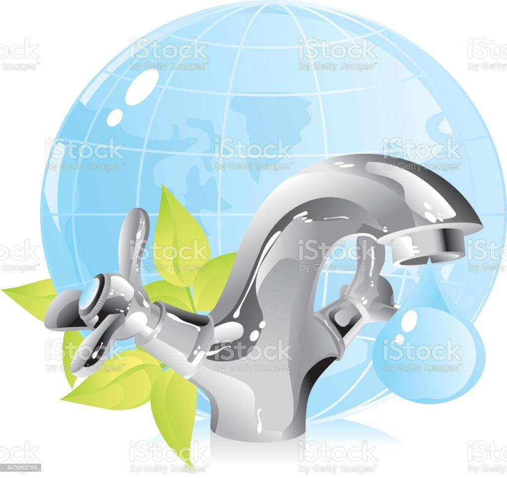 environmental protection vector art illustration
