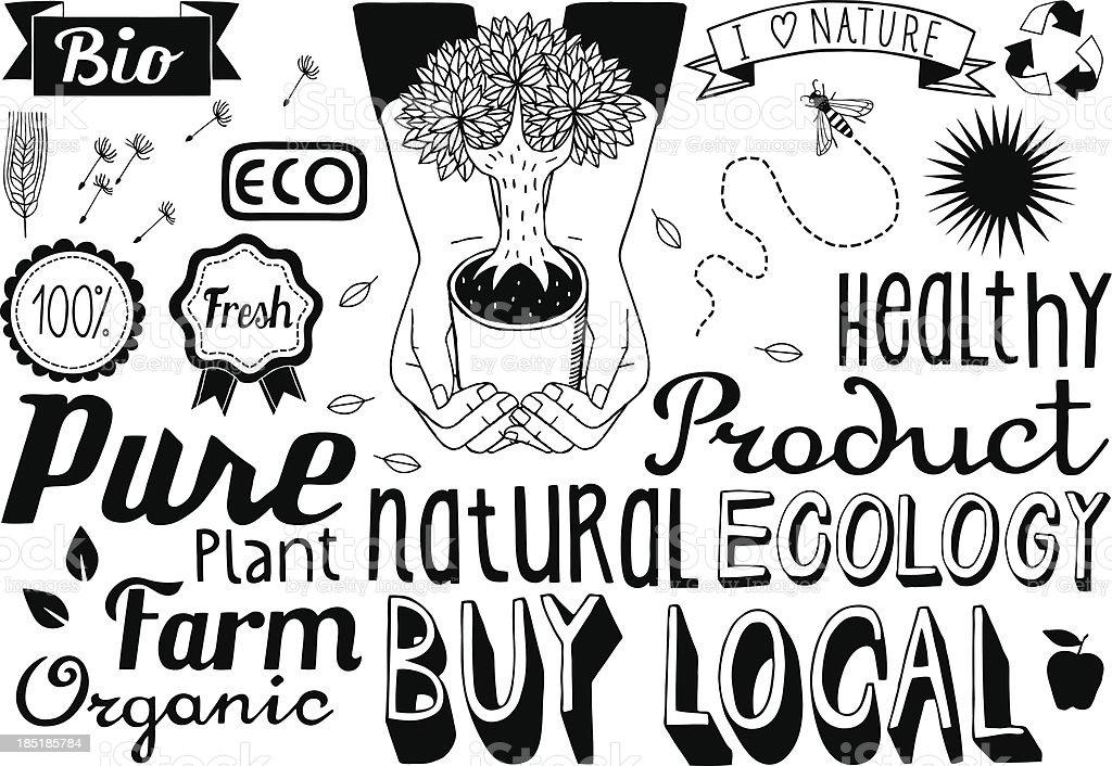 Environmental Sketch Illustrations
