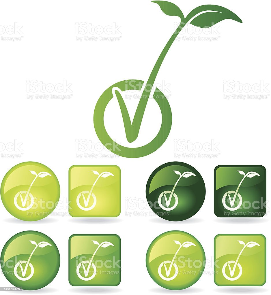 Environmental Tick royalty-free environmental tick stock vector art & more images of check mark