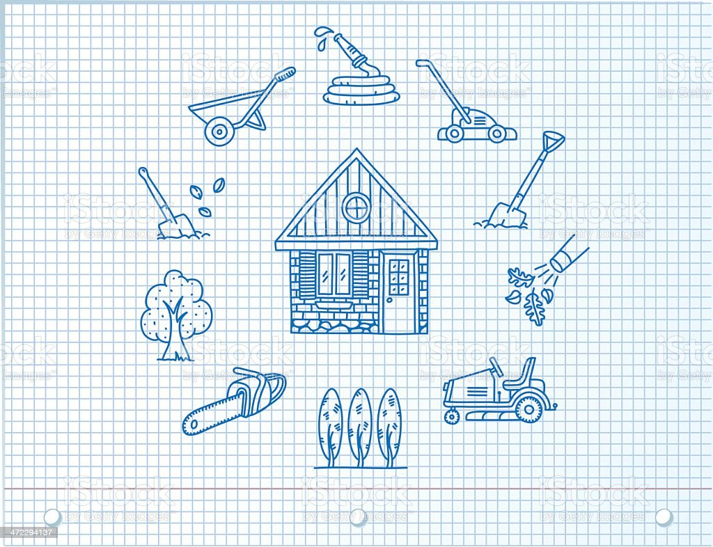 Environmentally Friendly Home Icons royalty-free environmentally friendly home icons stock vector art & more images of alternative energy