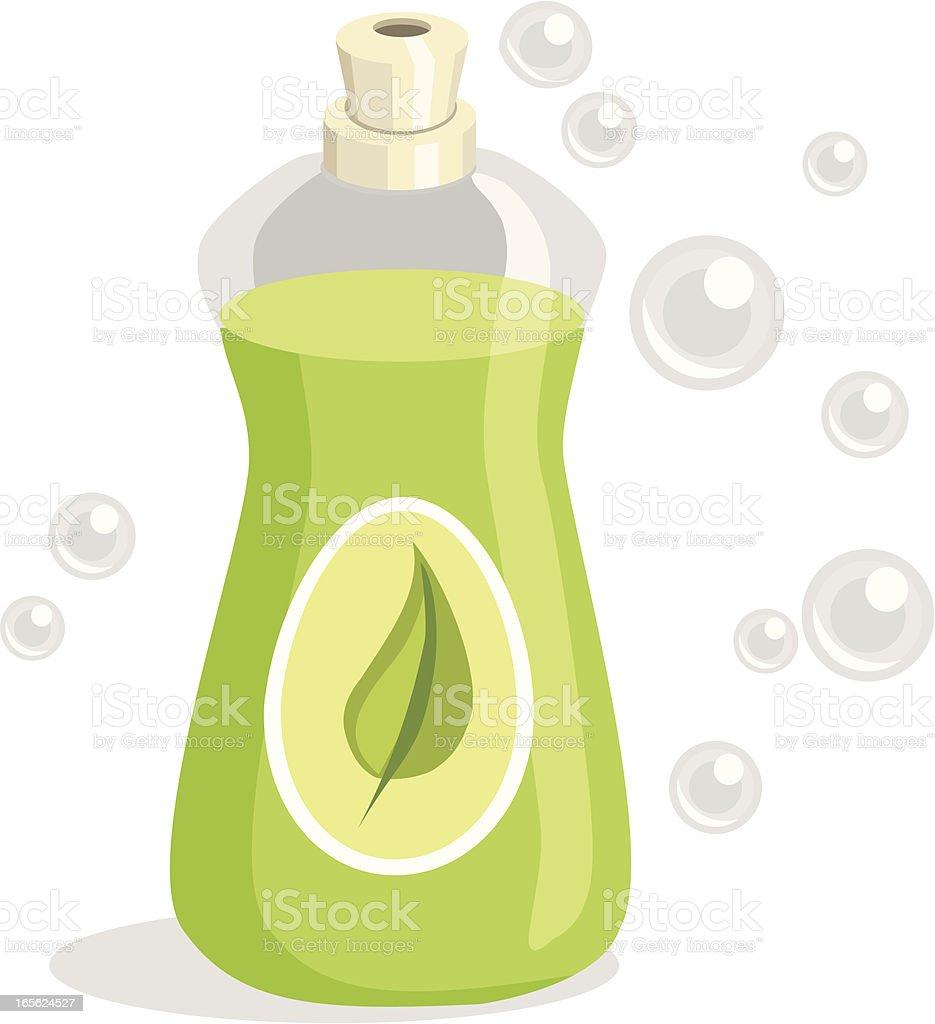Environmentally Safe Cleaner royalty-free stock vector art