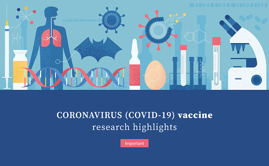 Epidemiology Lab Vaccine Research Cover Template