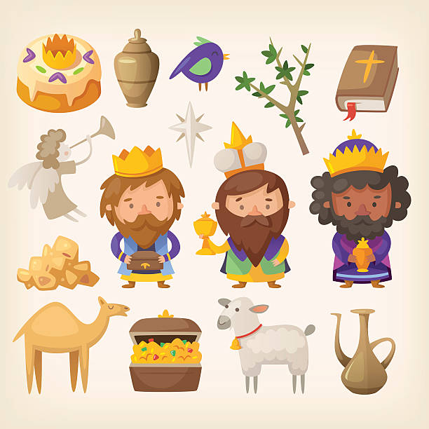 ilustrações de stock, clip art, desenhos animados e ícones de epiphanyname - reis magos