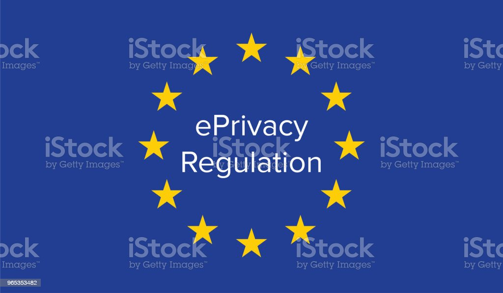 ePrivacy 章程 - 免版稅互聯網圖庫向量圖形