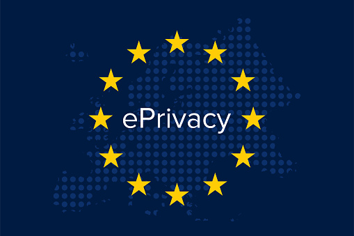 Eprivacy 규정 VoIP에 대한 스톡 벡터 아트 및 기타 이미지