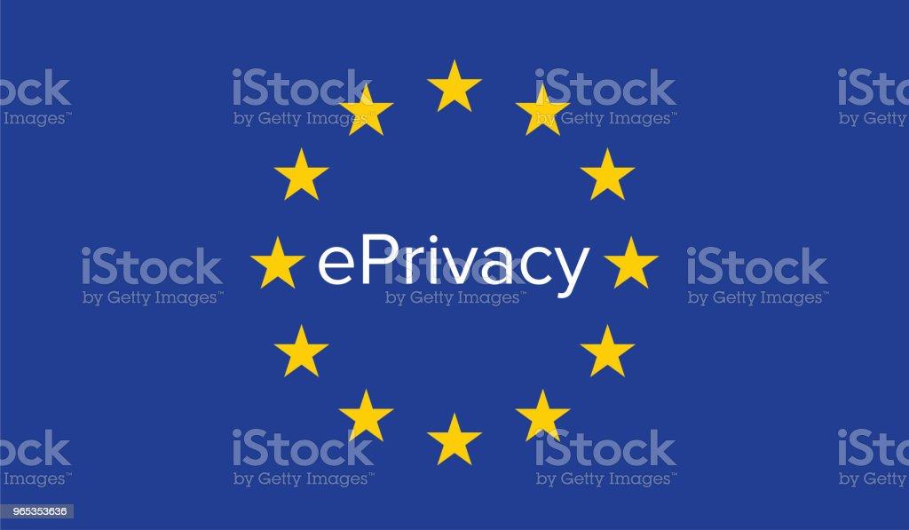 ePrivacy 규정 - 로열티 프리 VoIP 벡터 아트