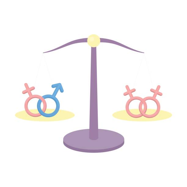equality icon cartoon. single gay icon from the big minority, homosexual cartoon. - minority stock illustrations, clip art, cartoons, & icons
