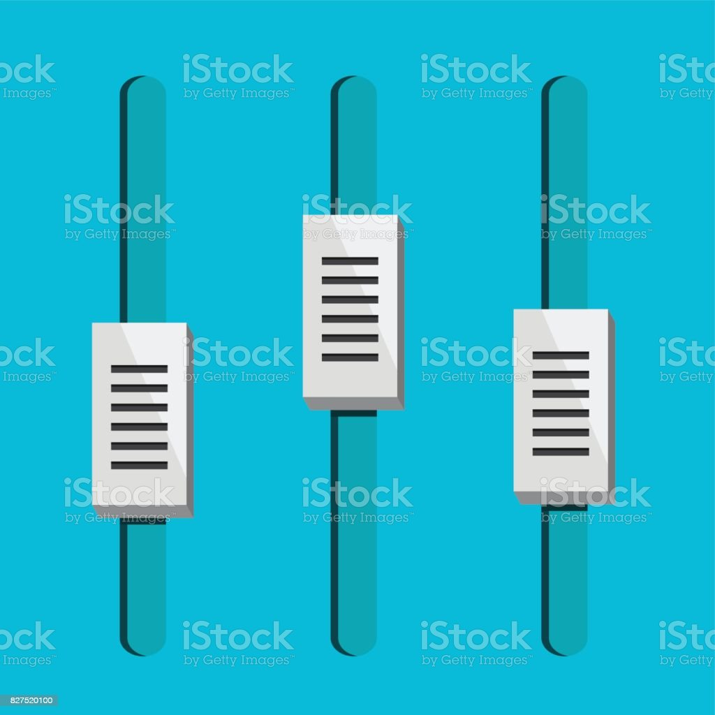 Equalizer Icon Sound And Music Icon Stock Illustration - Download Image Now