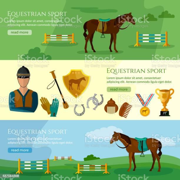 Equestrian sport banner professional jockey club vector id537044558?b=1&k=6&m=537044558&s=612x612&h=qa6frzkv97cvsyhfy81mczkac bmuymhcjns9aho4w0=