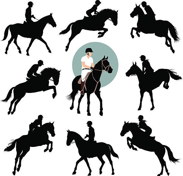 乗馬競技 - 乗馬点のイラスト素材/クリップアート素材/マンガ素材/アイコン素材