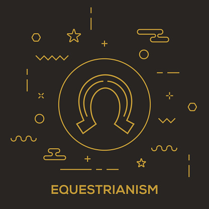 Equestrianism Concept