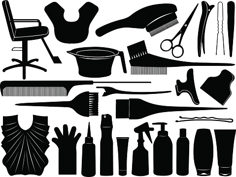 Equipment for hair dying