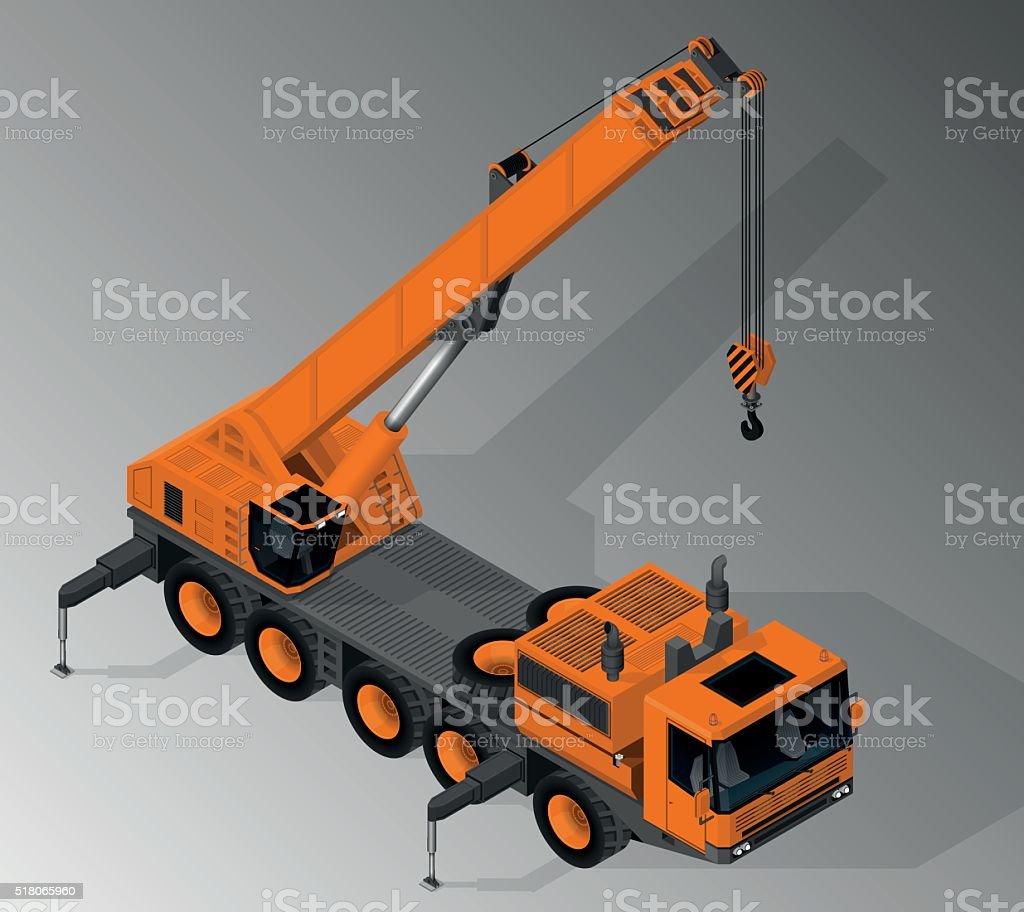Equipment for the construction industry. vector art illustration