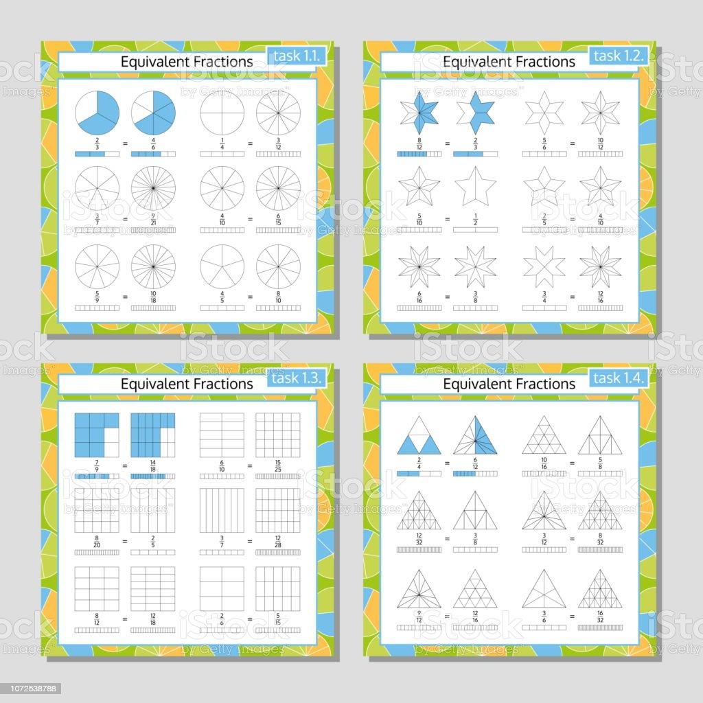 Ilustración De Juego De Matemáticas Hoja De Cálculo De