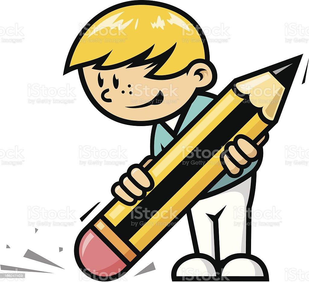 Erase boy royalty-free erase boy stock vector art & more images of adult student