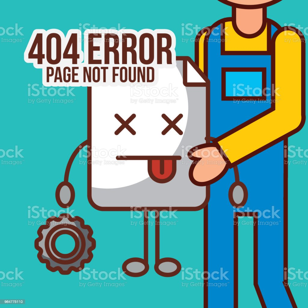 404 error page not found royalty-free 404 error page not found stock vector art & more images of adult