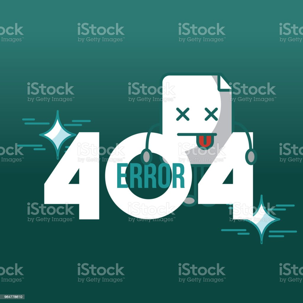 404 error page not found royalty-free 404 error page not found stock vector art & more images of advice