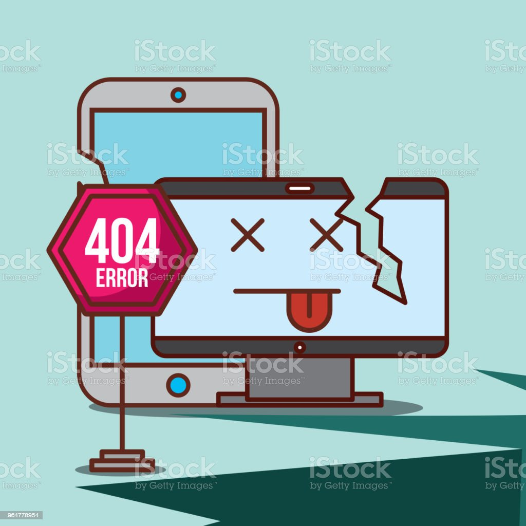404 error page not found royalty-free 404 error page not found stock illustration - download image now