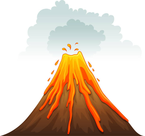 Top 60 Volcano Clip Art, Vector Graphics and Illustrations ...