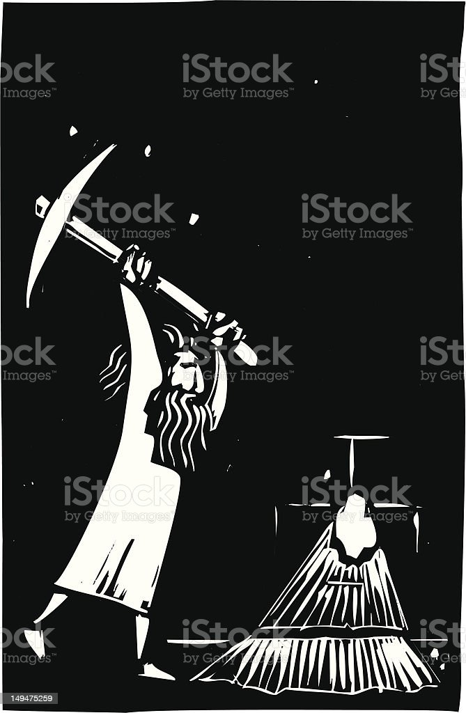 Escape royalty-free escape stock vector art & more images of digging