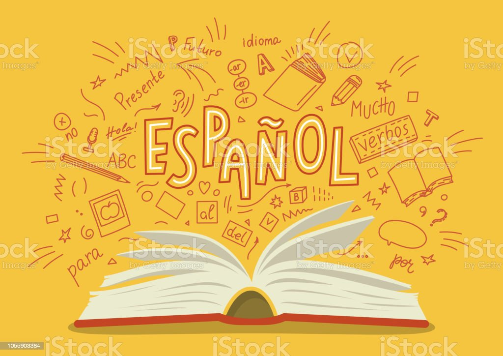 Espanol. - Illustration vectorielle