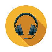 istock Esports Gaming Headset Icon 1201542721