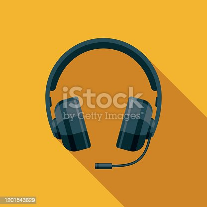 istock Esports Gaming Headset Icon 1201543629